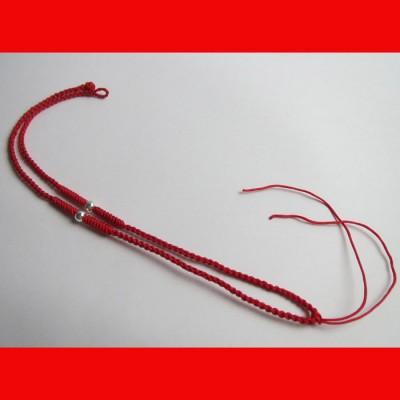 红绳编织项链